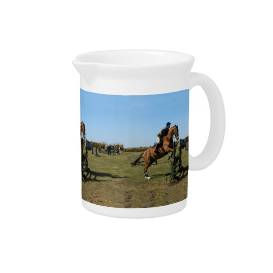 Jumping Horse Beverage Pitchers