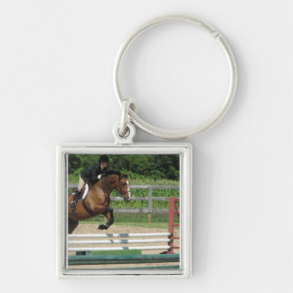 Jumping Horse Keychain