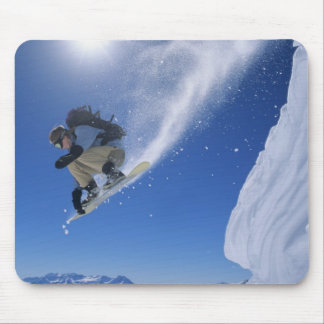 Jumping into Snake Creek Canyon from Clayton 3 Mouse Mat
