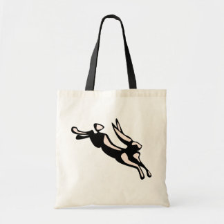 Jumping Jack Rabbit Tote Bag