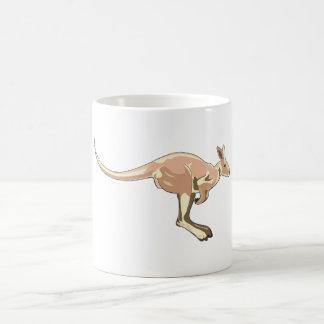 Jumping Kangaroo Coffee Mugs