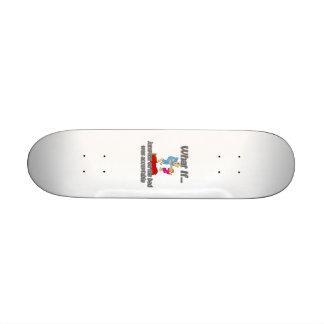 jumping on bed custom skateboard