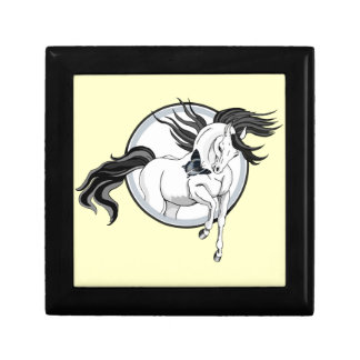 Jumping Out ~ Horse and butterfly Gift Box