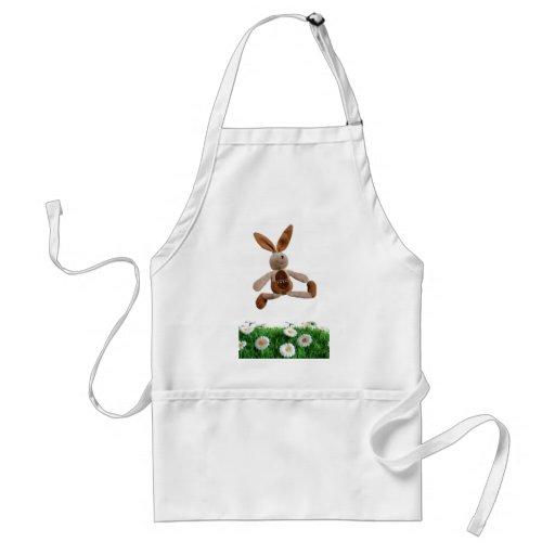Jumping rabbit aprons