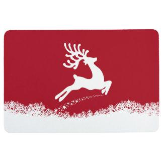 Jumping Reindeer floor mat