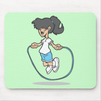 Jumping Rope Mouse Pads