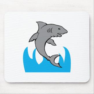 Jumping Shark Mousepads