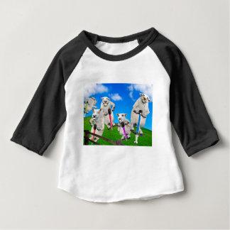 Jumping Sheep Baby T-Shirt