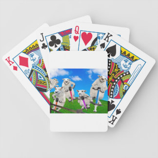Jumping Sheep Bicycle Playing Cards