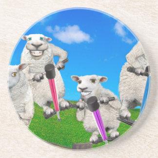 Jumping Sheep Coasters