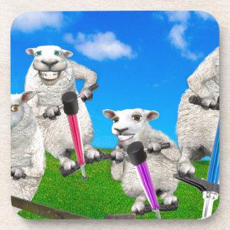 Jumping Sheep Drink Coaster