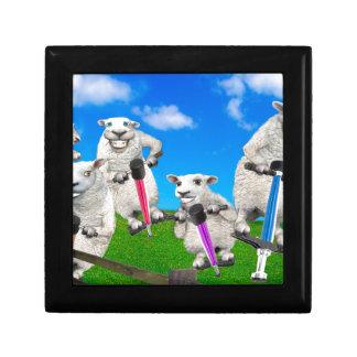 Jumping Sheep Gift Box