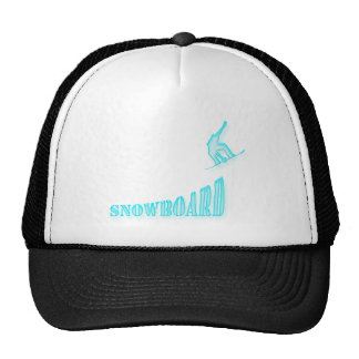 Jumping Snowboarder Hat
