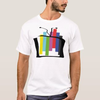 Jumping Test Card T-shirt for Adults - S to 5XL