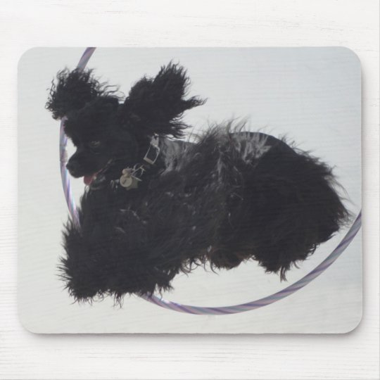 Jumping Through Hoops Mouse Pad