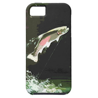 JUMPING TROUT ART iPhone 5 COVER
