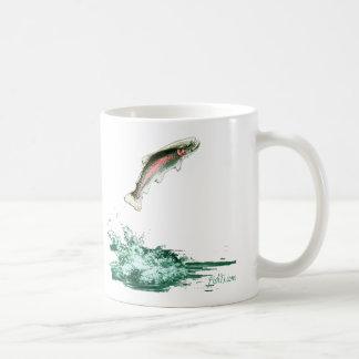 Jumping Trout Mugs