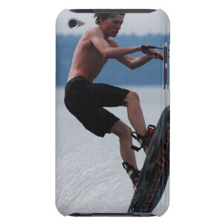 Jumping Wakeboarder iTouch Case Barely There iPod Covers