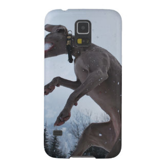 Jumping Weimaraner Case For Galaxy S5
