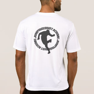 Jumpstyle Light White T-Shirt w text back