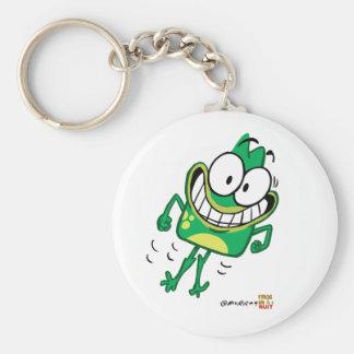 Jumpy Peete Basic Keychain