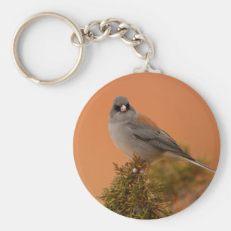 junco basic round button key ring