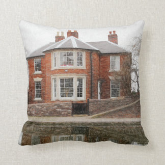 Junction House throw pillow