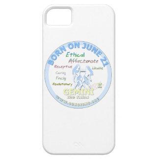 June 21st Birthday - Gemini iPhone 5 Case