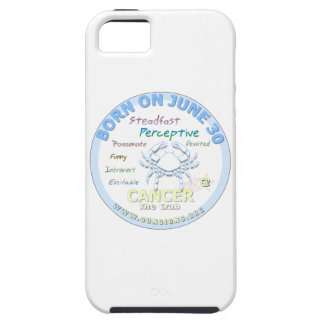 June 30th Birthday - Cancer iPhone 5/5S Covers