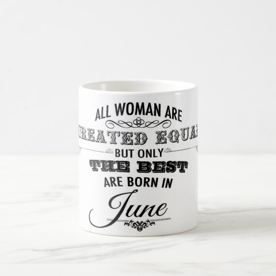 June Birthday Mug