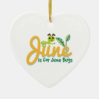 June Bug Christmas Ornament