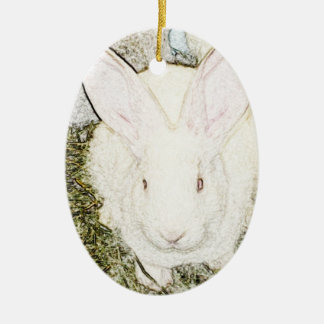 June Bunny Ornament