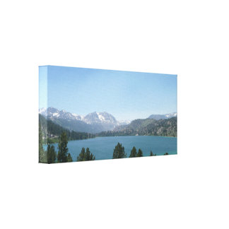 June Lake Stretched Canvas Print