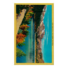 June Lake in the High SierraMono County, CA Poster