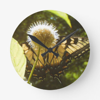 June Monarch  Flower Clock