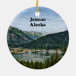 Juneau, Alaska Christmas Ornament