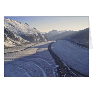 Juneau Icefield Gilkey Trench (Blank Inside) Greeting Card