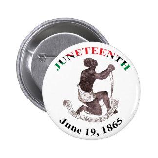 Juneteenth Button