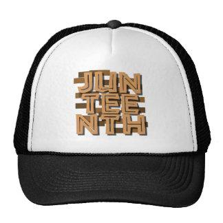 JUNETEENTH HAT