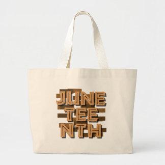 JUNETEENTH TOTE BAGS