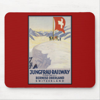 Jungfrau-Railway Bernese oberland Mouse Mat