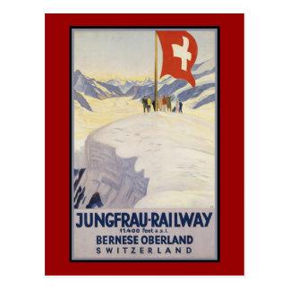 Jungfrau-Railway Bernese oberland Postcard