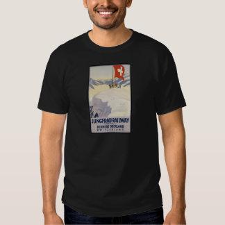 Jungfrau-Railway Bernese oberland Tshirt