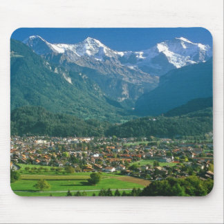 Jungfrau range mouse mat