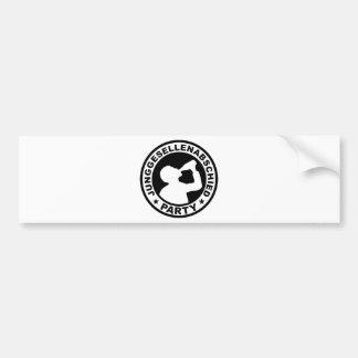Junggesellenabschied Party Bumper Sticker