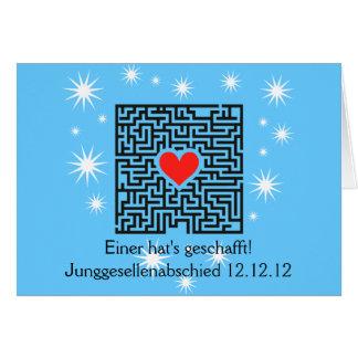 Junggesellenabschied Zubehört Greeting Card