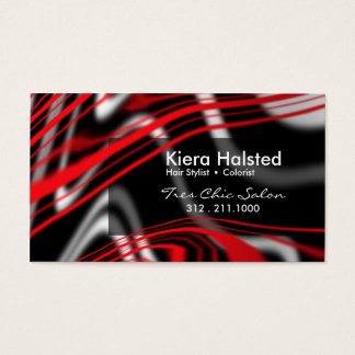 Jungle-1 Business Card (red/black)
