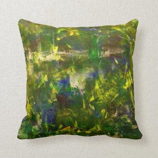 Jungle Abstract Cushion