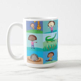 Jungle Animal Cocoa Mug - Look Alikes