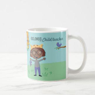 Jungle animal coffee mug